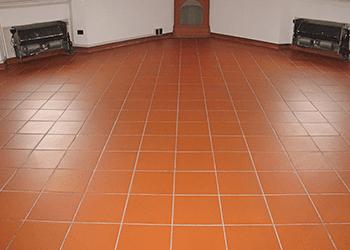 Trattamento pavimenti in Cotto