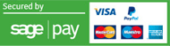 sage pay logo and other payment options icon