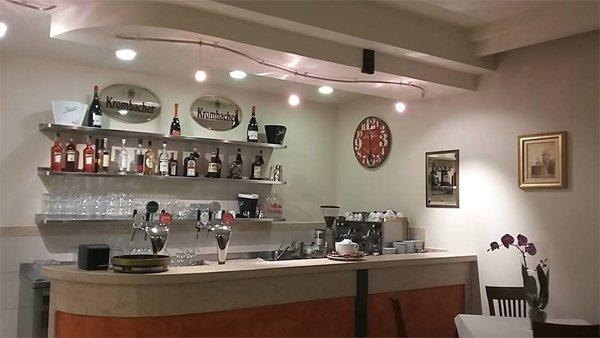 Angolo Bar del Ristorante Pizzeria Alloggio Il Capitano a San Benedetto Po