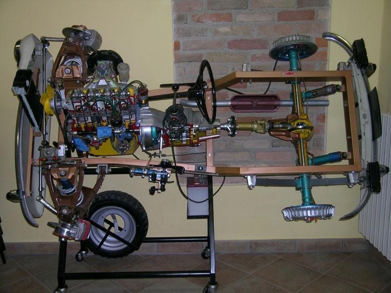 Motore - Aula teoria Crema
