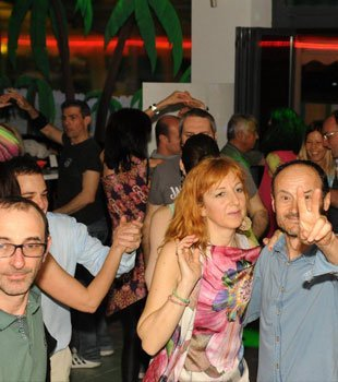 Serata al disco bar Dema a Villorba