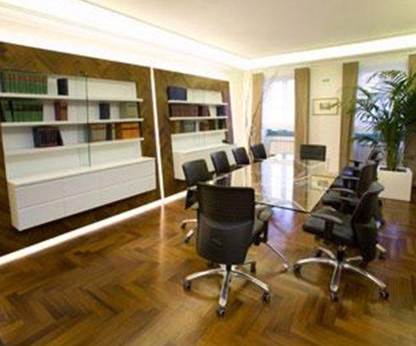 Sala dello studio legale