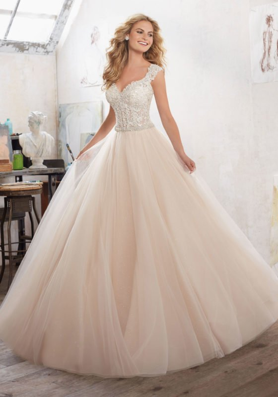 228a21f4cb28 We are so pleased to feature the fabulous Marigold by Mori Lee at Susan  Nicholas Opulent Bridal. Opulent is the only way to describe this gown, ...