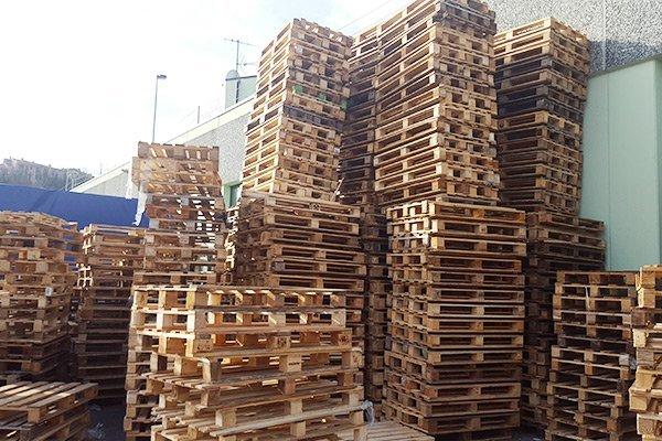 Pallets EUR ed EPAL in legno presso S&C Pallets a Genova