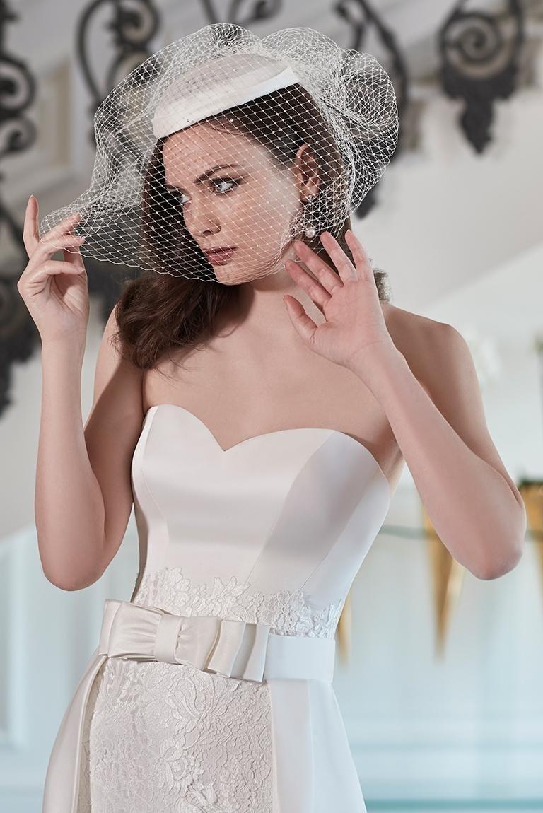 Vestito da sposa elegante