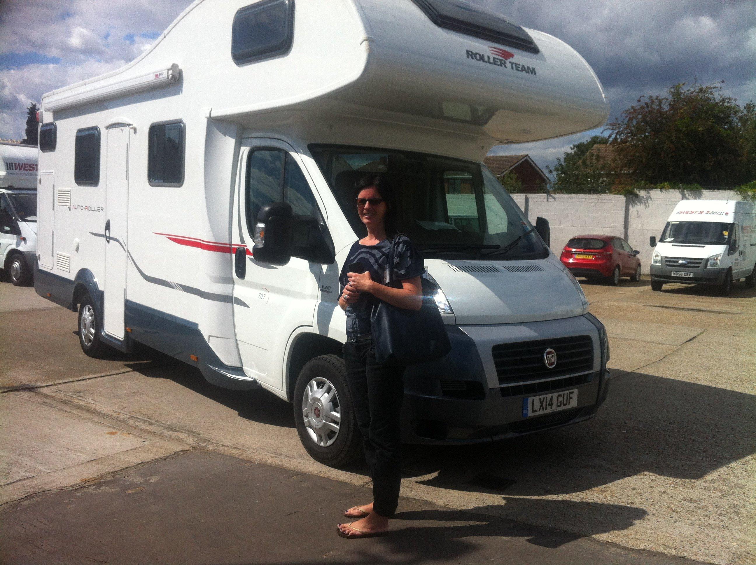 d07acd8ef6db65 Campervan Hire - Customer Gallery - Wests Motorhome Hire UK