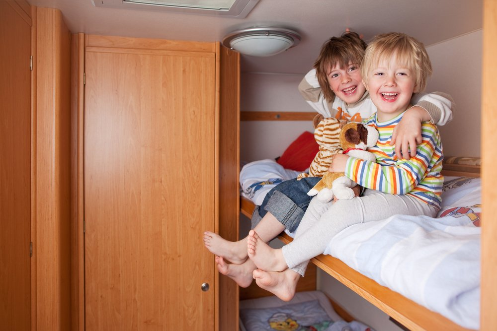 kids half term holidays campervan hire