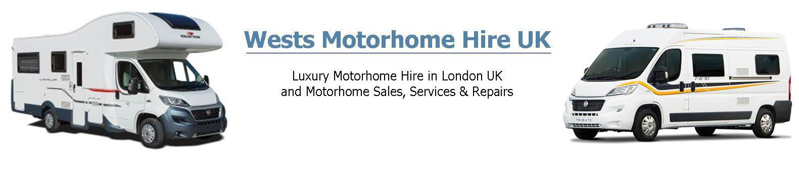 Wests Motorhome Hire UK London