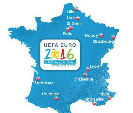 campervan hire for EUFA Football Championships in France