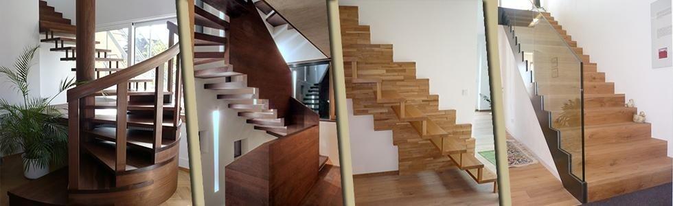 Produzione scale artigianali in legno