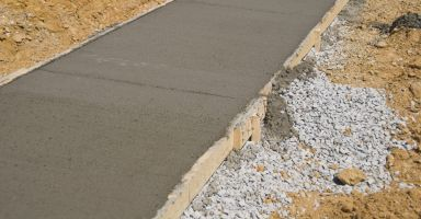 a sidewalk made at affordable concrete prices in Bullhead City, AZ