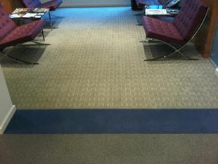 Flooring vinyl tile