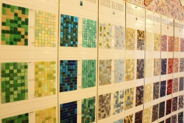 piastrelle colorate