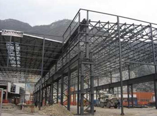 Nuovo capannone industriale  7000 mq. di proprietà di  Forgiatura MAME'  in Cividate Camuno (BS)