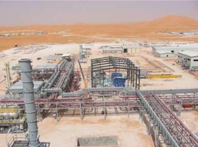 Edifici di servizio realizzati per ABB PS& S. Cantiere BBK - Algeria