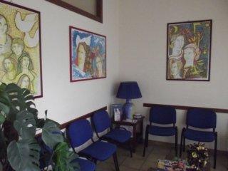 La sala d'aspetto
