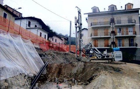 opere di sostegno edifici