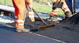 lavori pubblici, asfaltatura strade, livellamento strade