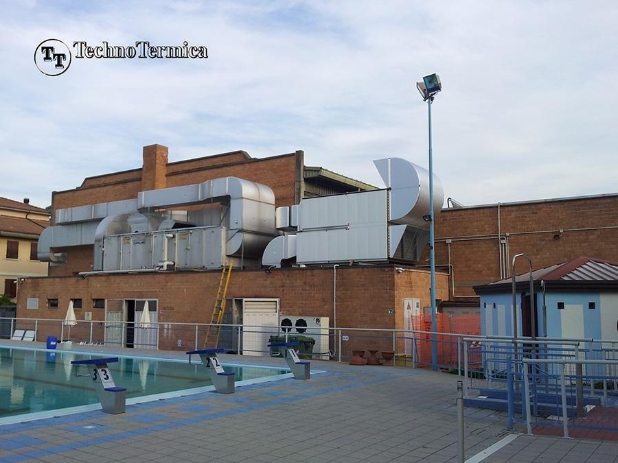 Ostiglia swimming pool