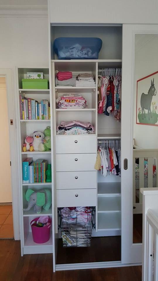 Custom designed Nursery storage