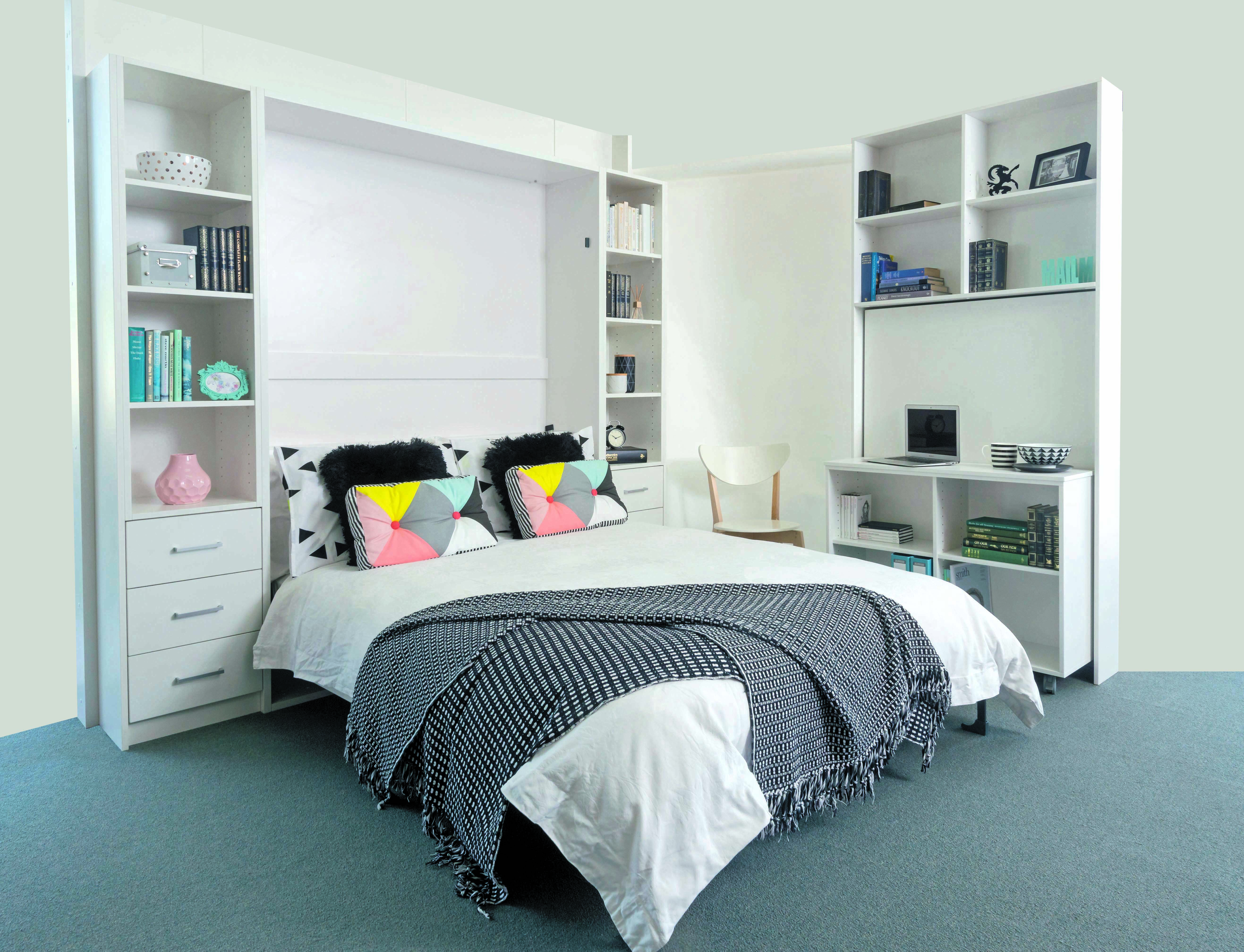 Organised interiors diy brisbane off the wall bed do it yourself amipublicfo Gallery