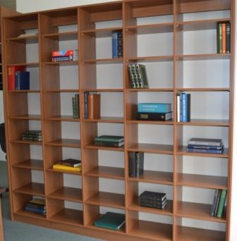 Timber look Storage shelves