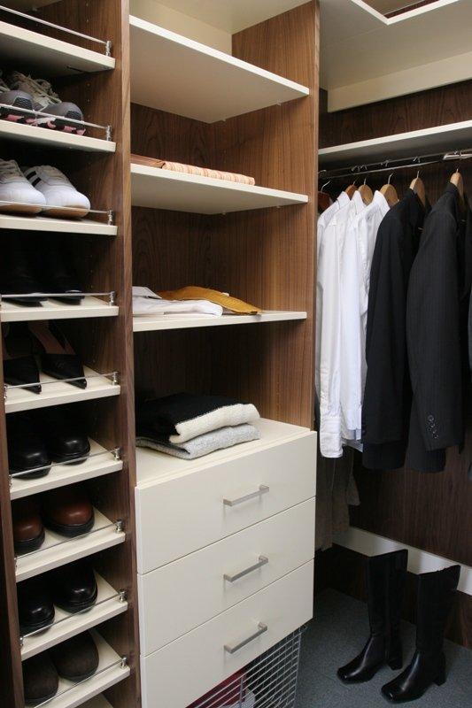 Customised wardrobe