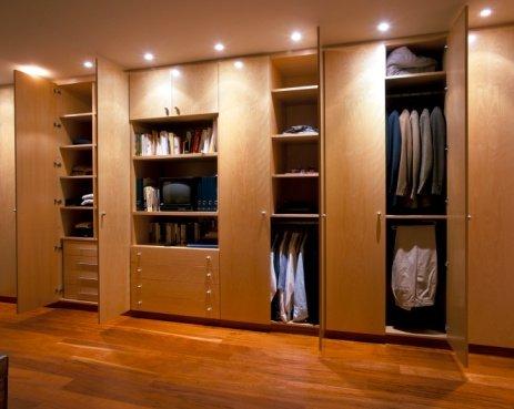 Executive styled men's wardrobe