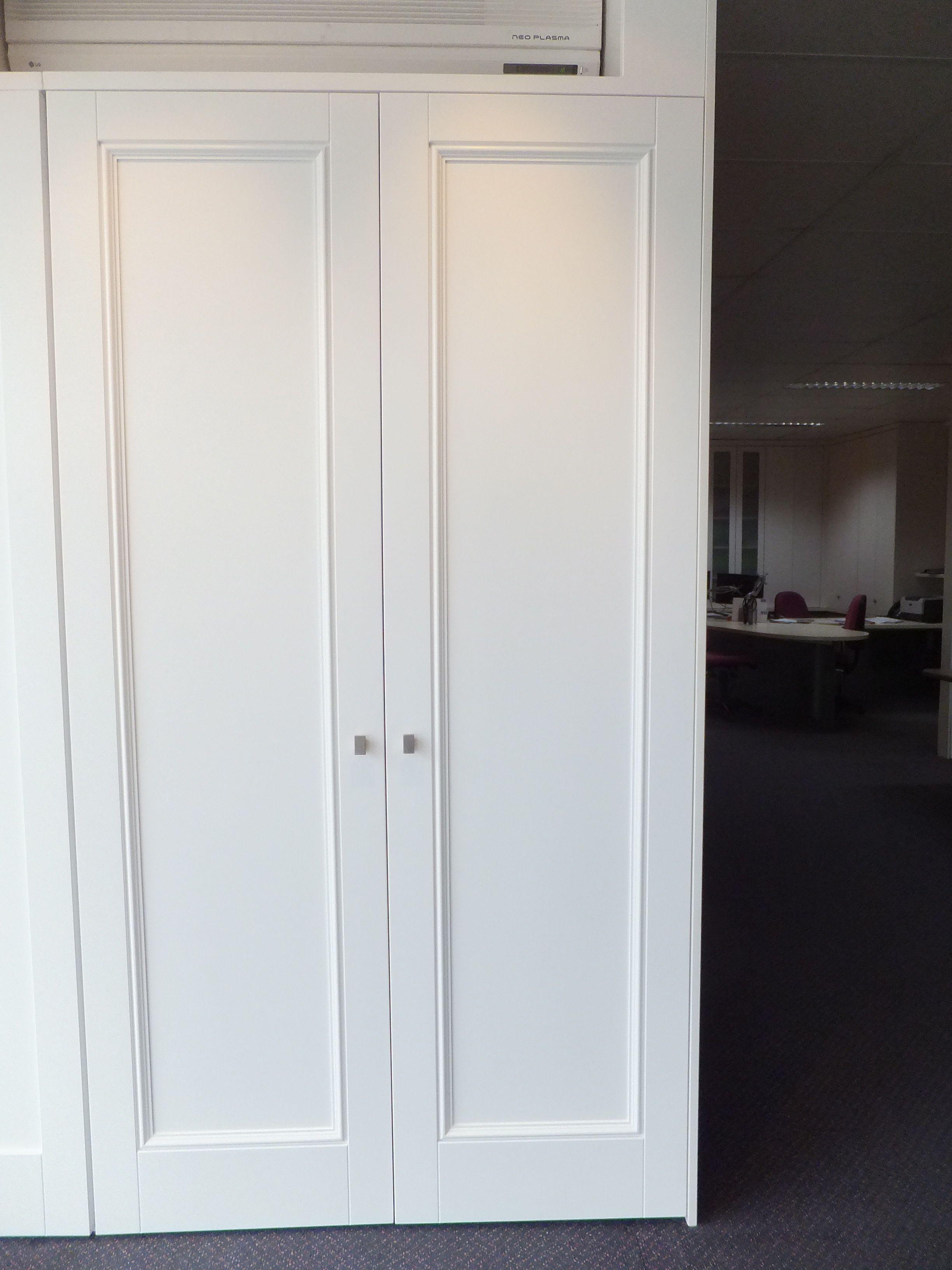 one panel painted hinged door