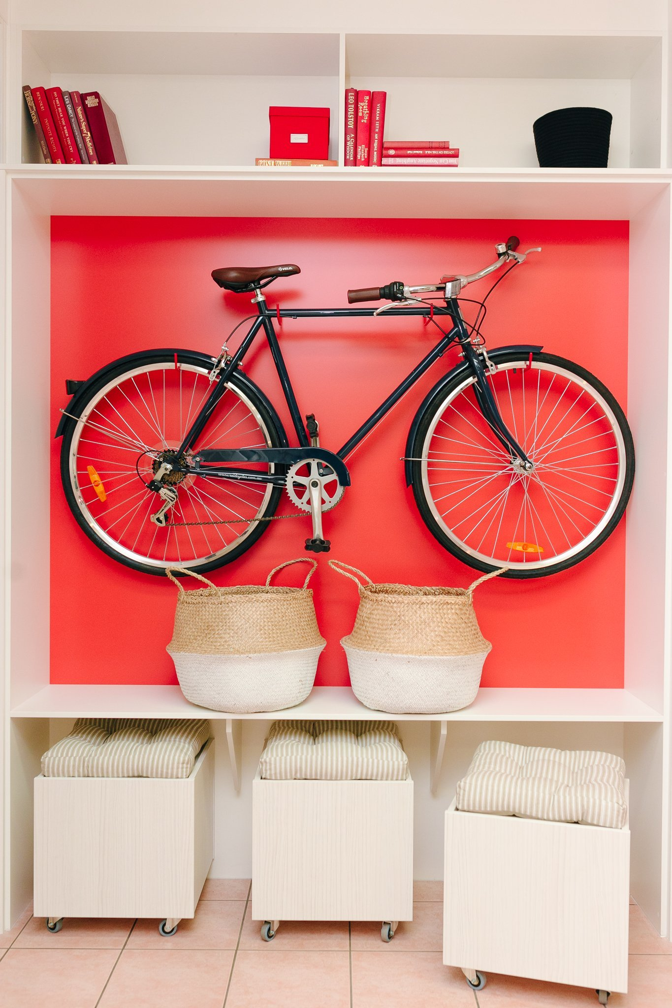 Mud Room Bike Storage