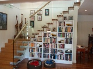 Under stair Book shelf