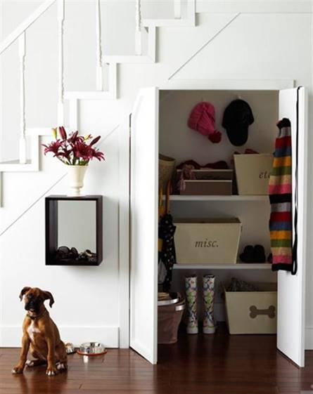 Unlike Harry Potter you probably shouldn t live under the stairs  However this is one of my favourite projects and it involves an ingenious way to hide Stairs Storage Idea for Organised Small Spaces