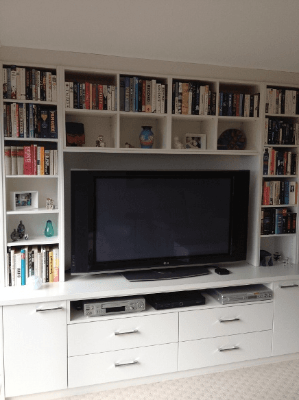 Custom built Entertainment unit