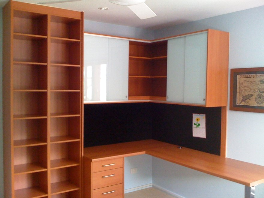 Office with pin board