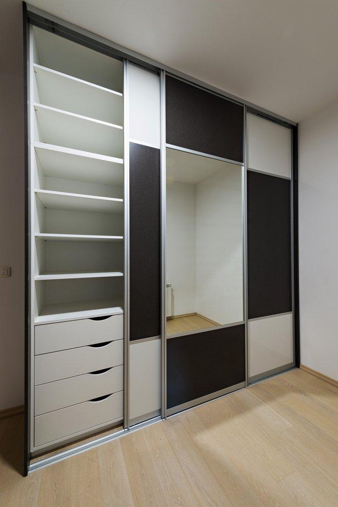 Customised wardrobe designed by experts