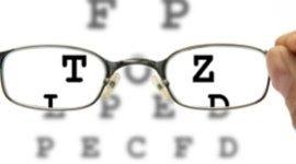 occhiali, lettere