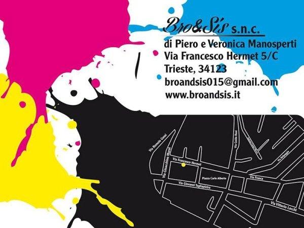 Progettazione grafica Trieste