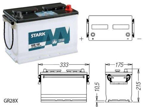 STARK G28X100