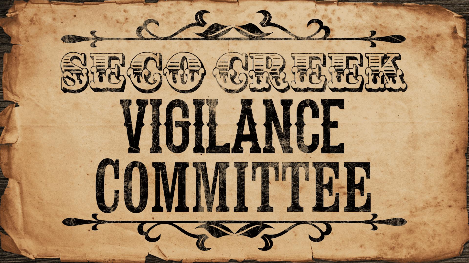 Seco Creek Vigilance Committee logo