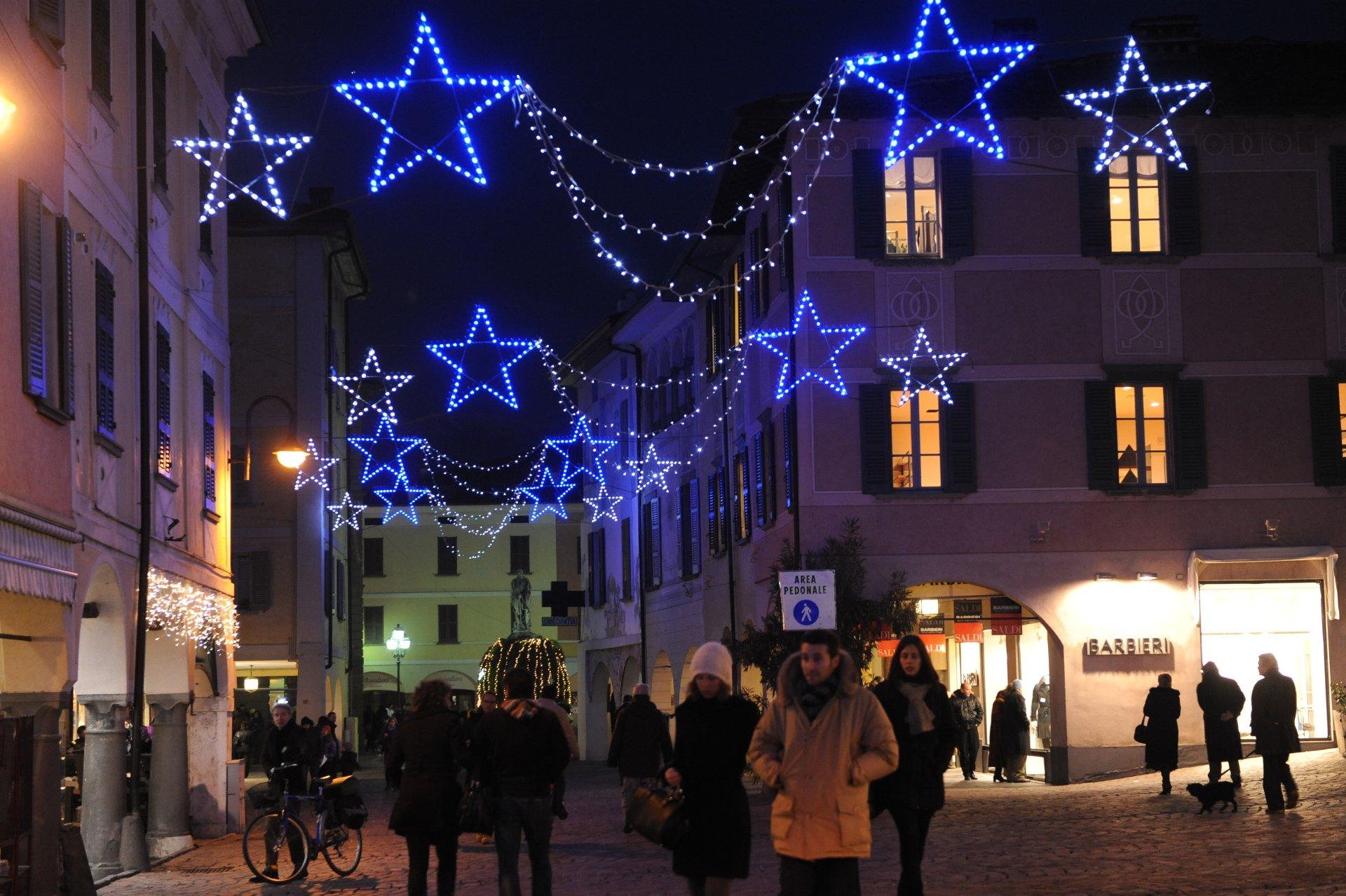 Luminarie natalizie affitto e vendita brescia