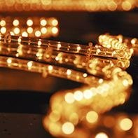 Luminarie per feste e sagre
