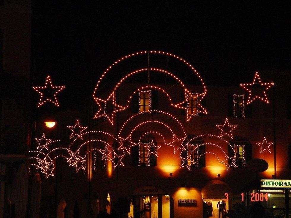 Luminarie per festività natalizie