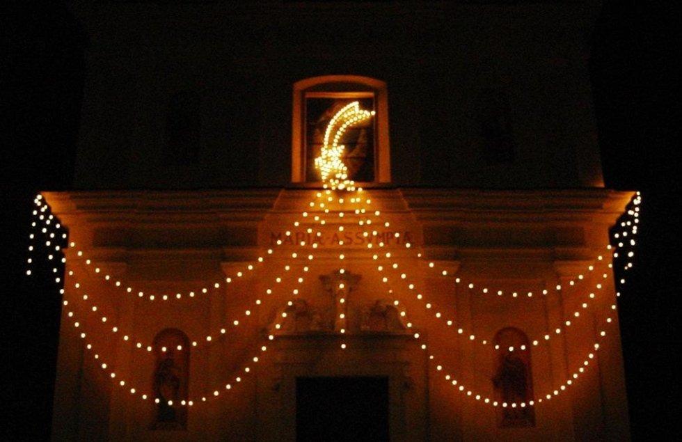 Luminarie per feste