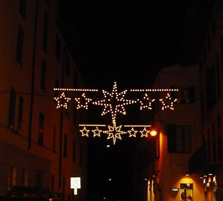 Luminarie per feste natalizie