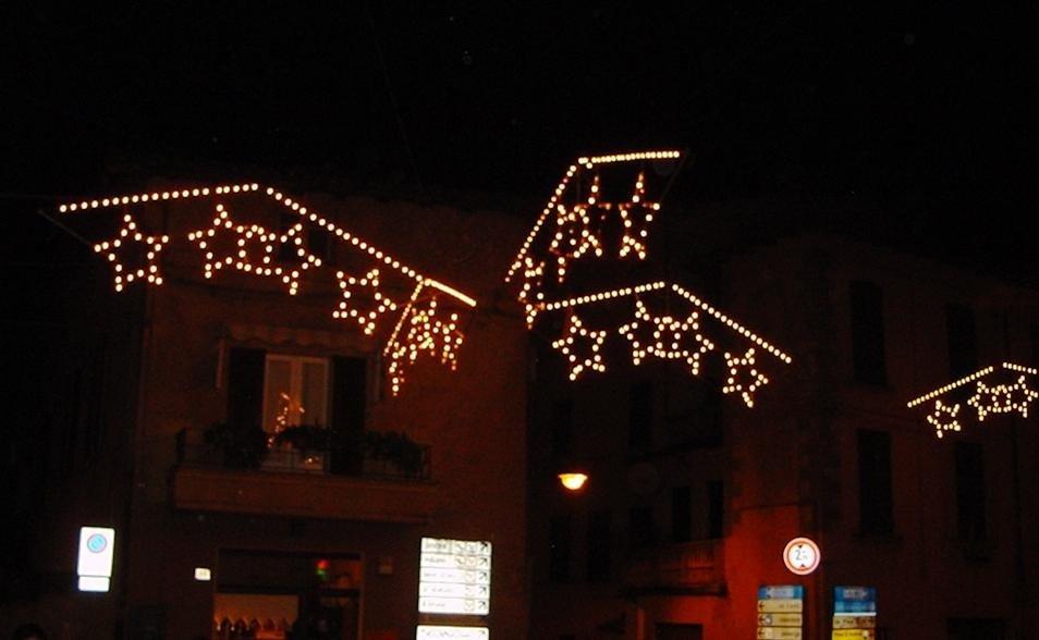 Luminarie per feste e sagre a stella