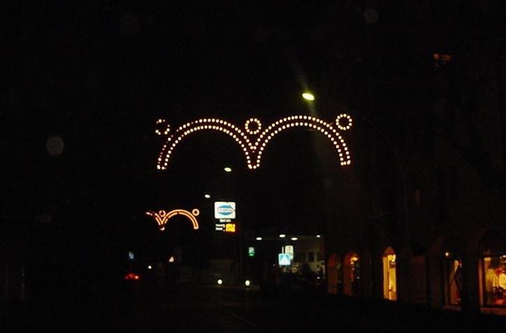 Luminarie per feste di Natale