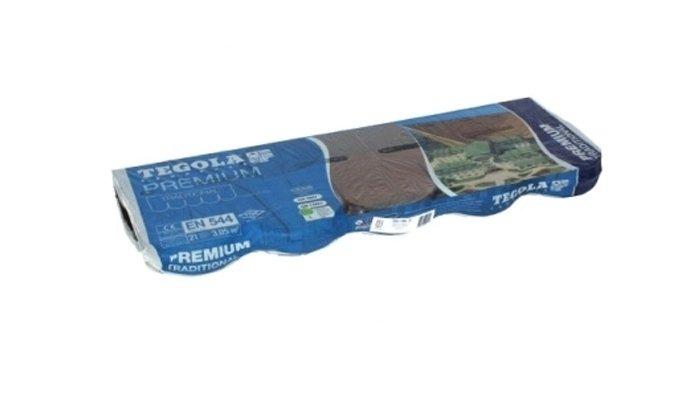 Packaging tegola traditional premium
