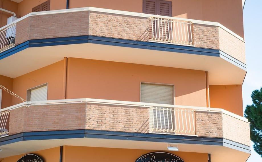 gronde, frontaline balconi e pluviali