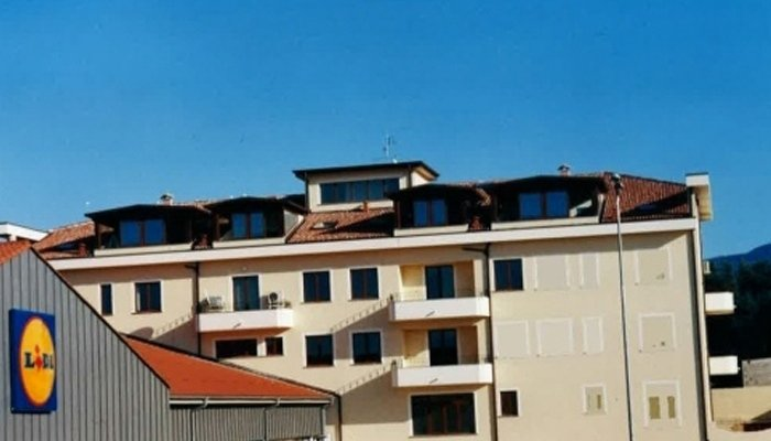 Copertura tetto palazzi
