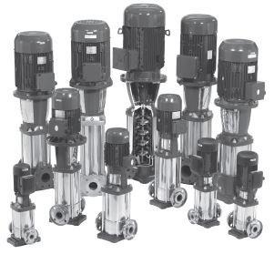 Assortimento di pompe centrifughe